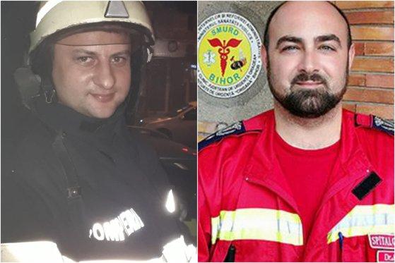 """Imaginea articolului Micuţa """"a avut zile"""". Un bebeluş a fost salvat de la moarte, în curtea ISU Bihor, de un medic şi un pompier"""