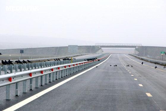 Imaginea articolului Risc de apariţie a poleiului pe Autostrada A1 Bucureşti – Piteşti. Poliţiştii recomandă reducerea vitezei