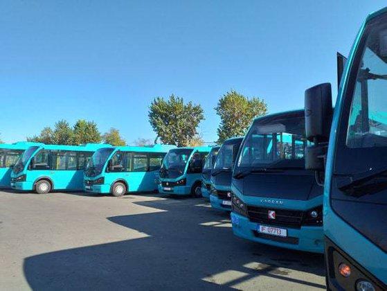 Imaginea articolului Cadou surpriză pentru gălăţeni de Ziua Naţională. Cum arată noile autobuze. GALERIE FOTO