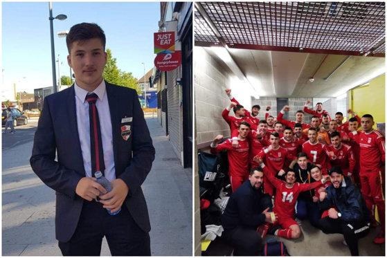 """Imaginea articolului Cum a ajuns un român, la 18 ani, cel mai tânăr patron al unei echipe de fotbal din Anglia: """"Îmi iubesc ţara, mă voi întoarce"""""""