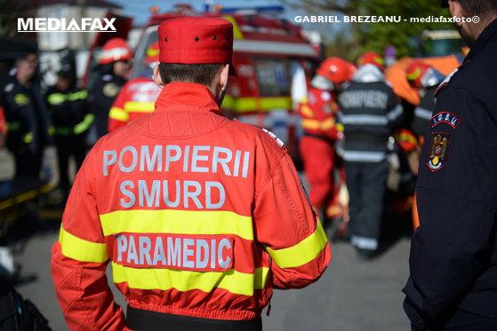 Imaginea articolului Explozie într-un bloc turn din Suceava. Pompierii militari intervin