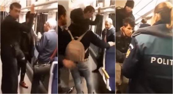 Imaginea articolului Clipe de panică în trenul Timişoara - Baia Mare. Trei imigranţi libanezi au încercat să-i jefuiască pe călători. VIDEO
