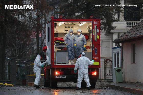Imaginea articolului Un bărbat recent întors din Italia a fost transportat la Spitalul din Sibiu. Pacientul prezintă simptome suspecte