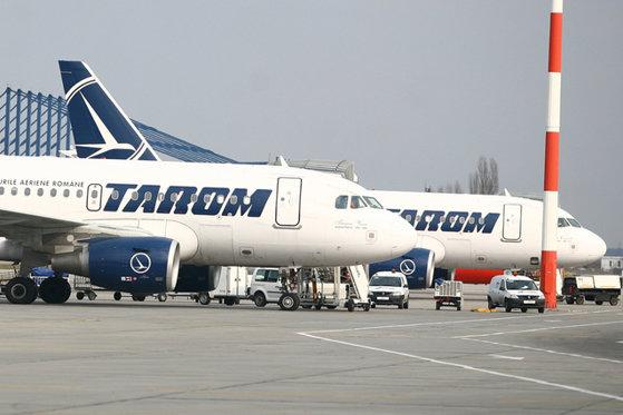 Imaginea articolului Un avion Tarom cu destinaţia Bruxelles a fost lovit de trăsnet şi s-a întors din drum