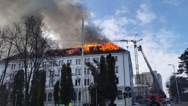 Care a fost cauza incendiului de la Palatul Administrativ din Suceava. Ce au descoperit anchetatorii|EpicNews