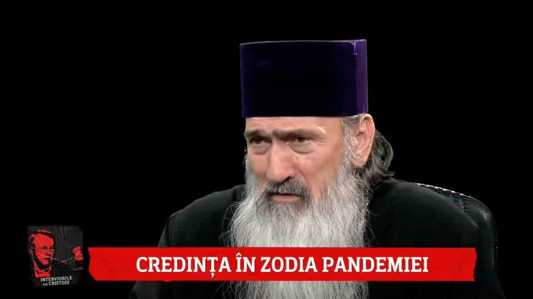 IPS Teodosie, la Interviurile lui Cristoiu: În această pandemie s-a indus o frică exagerată/ Puterea Bisericii este veşnică, puterea statului este vremelnică