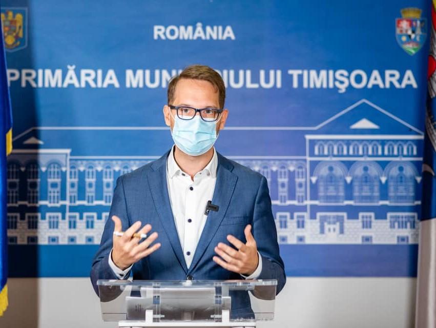 Dominic Fritz vrea acord cu Banca Mondială pentru un nou sistem de termoficare în Timişoara
