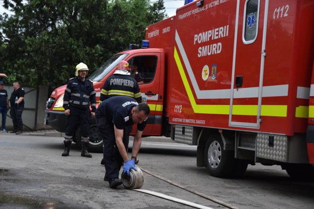 Incendiu într-o sală de operaţie de la Spitalul Judeţean Constanţa. Patru medici s-au autoevacuat.|EpicNews