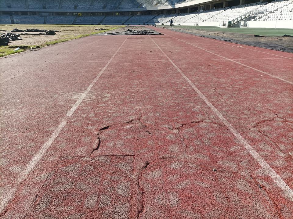 Pista de atletism şi gazonul de pe Cluj Arena, distruse la UNTOLD