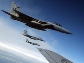 Şase avioane F15 şi sute de militari americani, la Baza de la Câmpia Turzii