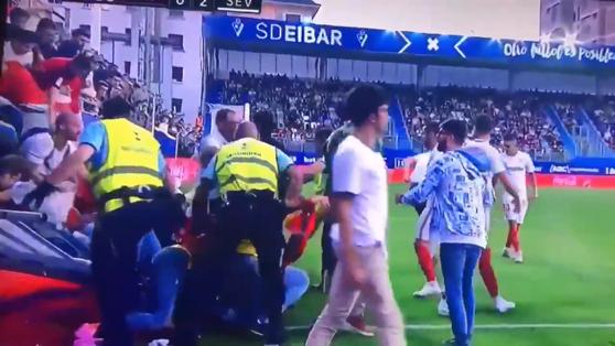 Imaginea articolului Tribuna stadionului echipei Eibar a cedat în meciul cu Sevilla