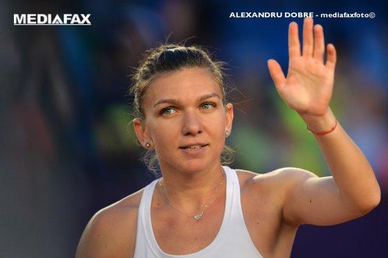 Imaginea articolului Simona Halep este nominalizată de WTA pentru lovitura anului