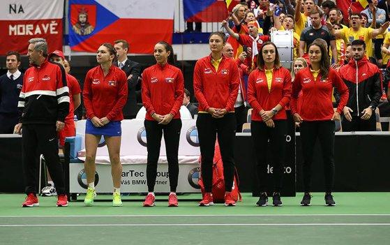 Imaginea articolului VICTORIE! România învinge Cehia cu 3-2 şi se califică în semifinalele Fed Cup pentru a doua oară în istorie/ Cu ce echipă se va înfrunta pentru un loc în finală