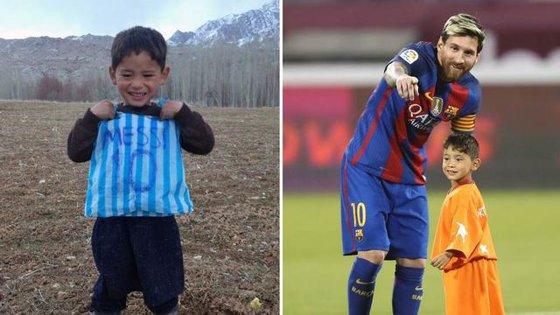 Imaginea articolului Întâlnirea cu Messi i-a schimbat viaţa, în rău. Ce s-a întâmplat cu băieţelul din Afganistan devenit faimos după ce şi-a făcut un tricou cu numele fotbalistului dintr-o pungă de plastic