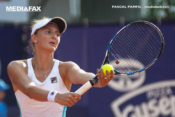 Imaginea articolului Irina Begu a fost eliminată în sferturile de finală ale turneului International de la Budapesta