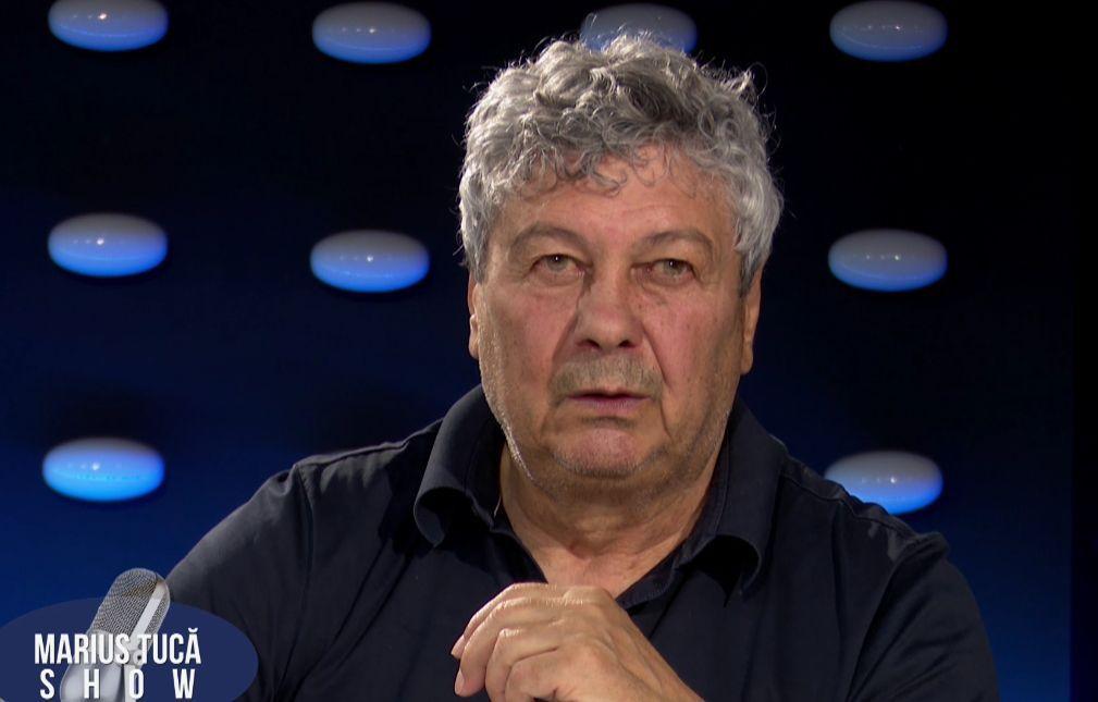 Marius Tucă Show. Mircea Lucescu: Am tricoul lui Pele din '70, aşa nespălat, şi l-am pus în ramă