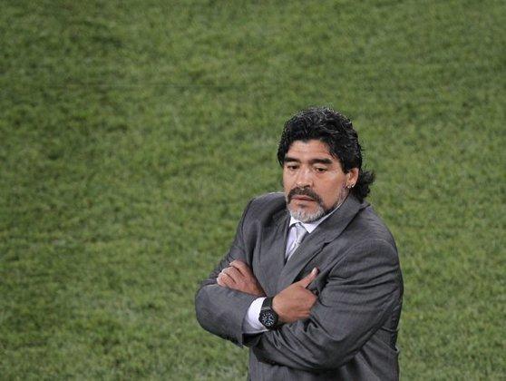 Imaginea articolului Maradona a demisionat de la Dorados de Sinaloa. Legendarul fotbalist are probleme de sănătate