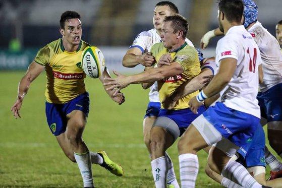 Imaginea articolului Naţionala României de rugby a învins Brazilia într-un meci test, scor 22-21