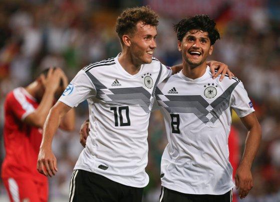 Imaginea articolului EURO U21 2019. Germania s-a calificat în semifinalele turneului final/ Meciul România - Franţa va avea loc luni
