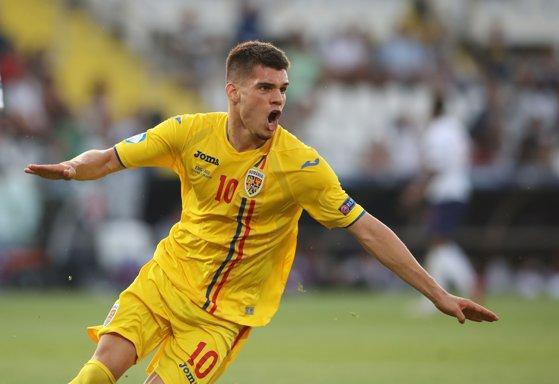 """Imaginea articolului Presa din Spania îl venerează pe Ianis Hagi: Fiul """"Regelui"""" este motorul naţionalei României U21"""