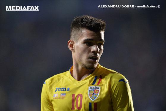 Imaginea articolului Ianis Hagi, MESAJ FERM după eliminarea României U21 de la EURO 2019: Avem foame de trofee, de rezultate