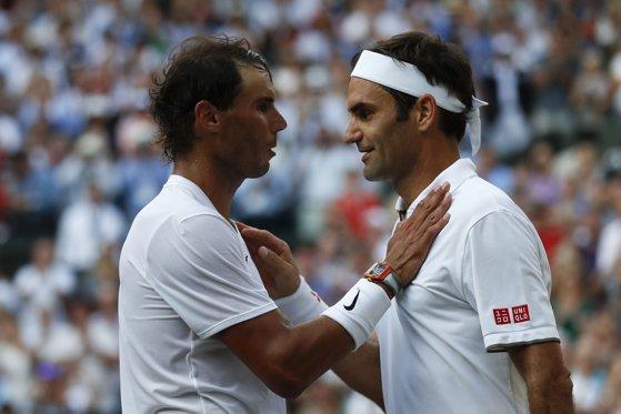 Imaginea articolului Wimbledon 2019. Nadal, despre Federer: A jucat mai bine. Mult noroc în finală. Ne vedem la anul!