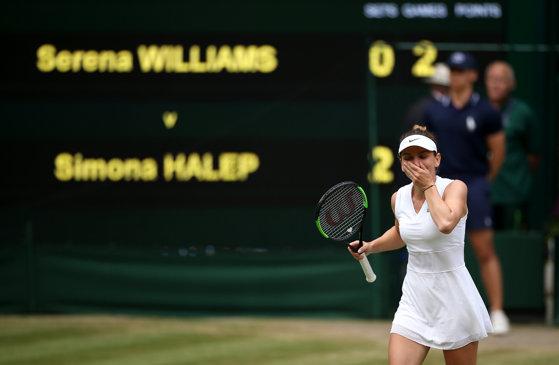 Imaginea articolului Simona Halep, campioană la Wimbledon: Am impresia că e un vis/ Nu am avut terenuri de tenis cu iarbă în România/ Românca, cea mai recentă membră a exclusivistului All England Club