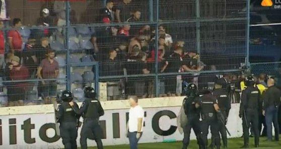 Imaginea articolului Sancţiuni după incidentele de la meciul Viitorul - Dinamo: Şase suporteri nu mai pot intra pe stadioane timp de un an | VIDEO