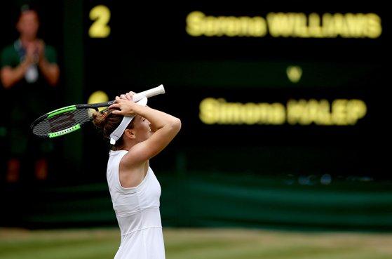 Imaginea articolului Cât va încasa Simona Halep după triumful de la Wimbledon. Şi Nike o premiază cu o sumă consistentă