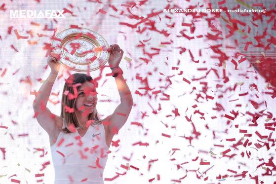 Imaginea articolului Simona Halep: Voi merge prin ţară pentru ca tot mai mulţi copii să se îndrepte spre tenis