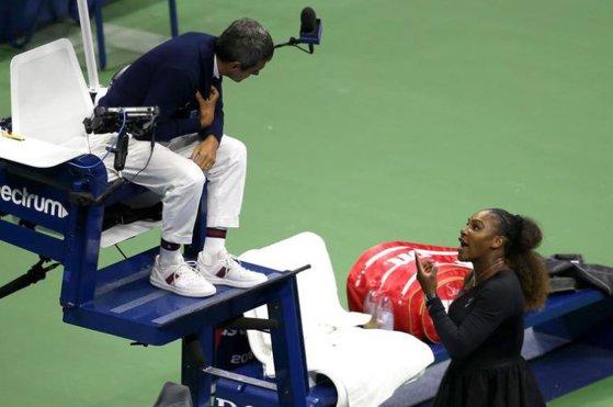 Imaginea articolului Decizia radicală luată de şefii United States Tennis Association în privinţa arbitrului care s-a contrat cu Serena Williams în finala US Open 2018 | VIDEO