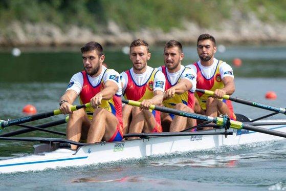 Imaginea articolului România a câştigat medalia de argint la Campionatele Mondiale de canotaj de la Linz