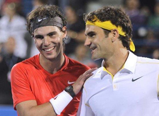 Imaginea articolului Confruntarea care ar spulbera toate recordurile de audienţă din tenis. Preşedintele Real Madrid plănuieşte un meci între Nadal şi Federer/ Unde ar putea avea loc