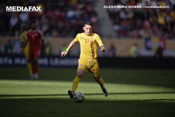 Imaginea articolului UEFA i-a învăţat pe fani cum să pronunţe numele lui Nicolae Stanciu
