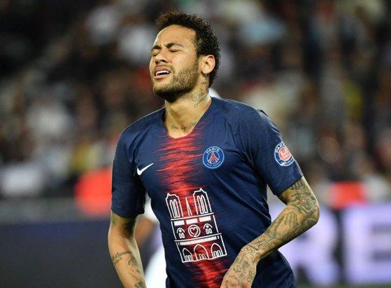 Imaginea articolului Neymar a înscris golul decisiv pentru PSG în partida cu Olympique Lyon, scor 1-0