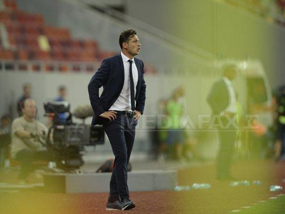 Imaginea articolului Mirel Rădoi, selecţioner România U21: În meciul cu Ucraina, diferenţa s-a făcut la nivelul grupului