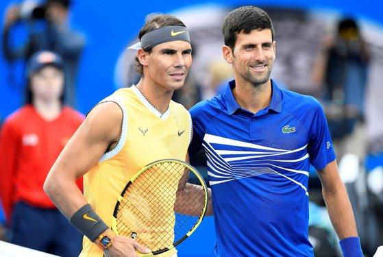 Imaginea articolului Doi titani ai tenisului, Rafael Nadal şi Novak Djokovic, acuzaţi că au încălcat regulamentul ATP