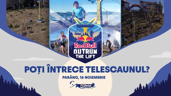 Red Bull Outrun the Lift: Cei mai buni alergători montani din România se întrec cu telescaunul în Munţii Parâng
