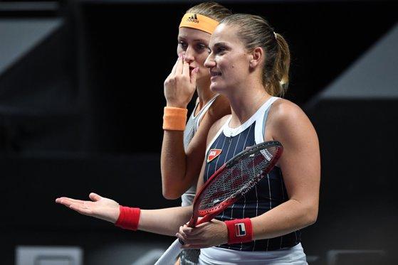 Imaginea articolului Tuneul Campioanelor: Timea Babos şi Kristina Mladenovic, campioane în proba de dublu