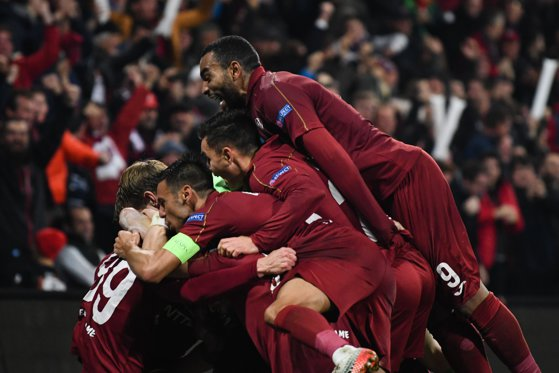 Imaginea articolului Europa League. Reacţia presei din Franţa după victoria echipei CFR în faţa formaţiei Rennes, 1-0