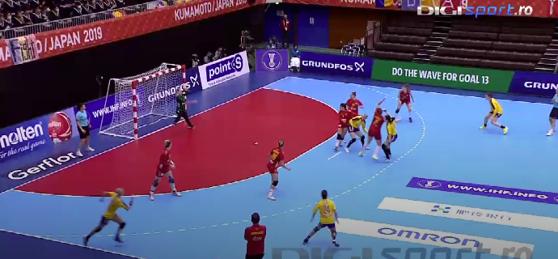 Imaginea articolului România, eşec în meciul cu Muntenegru la Campionatul Mondial de handbal feminin