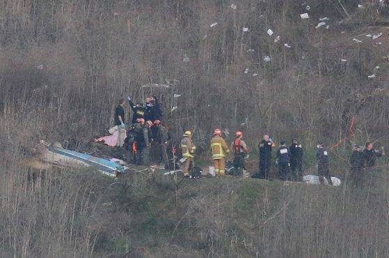 Imaginea articolului Anunţul Pompierilor din L.A.: Câte persoane se aflau, de fapt, în elicopter cu Kobe. Nu există supravieţuitori