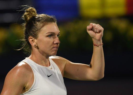 Simona Halep s-a calificat în semifinalele turneului de la Dubai. Reacţia după victorie: A fost greu să-mi găsesc ritmul