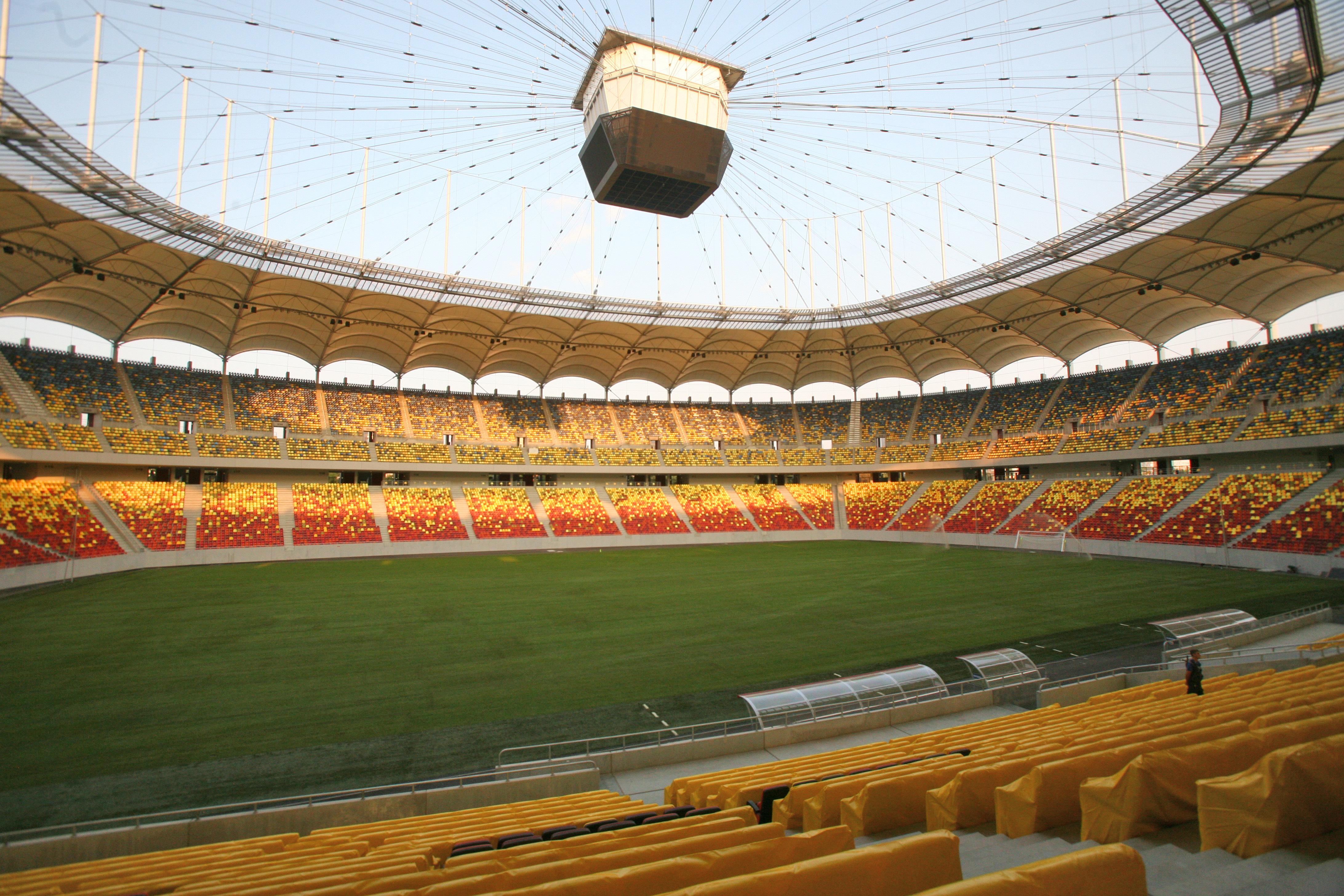 UEFA a suplimentat numărul de locuri alocate României la tribuna oficială a Arenei Naţionale