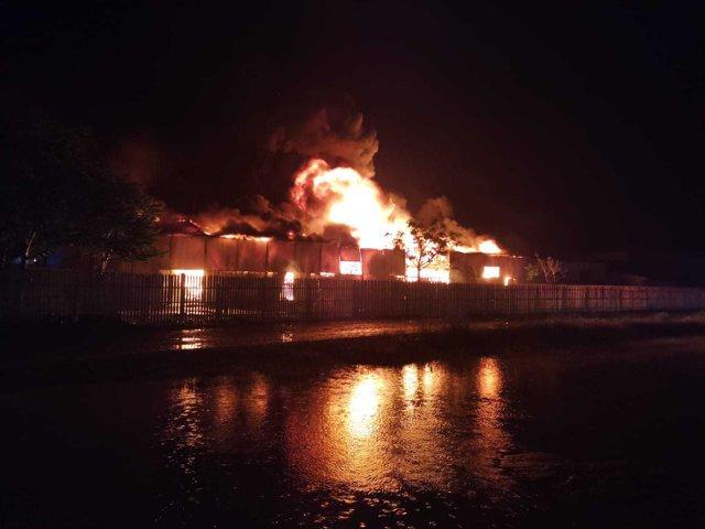 Fabrica din Timişoara unde a izbucnit un incendiu a fost amendată EpicNews