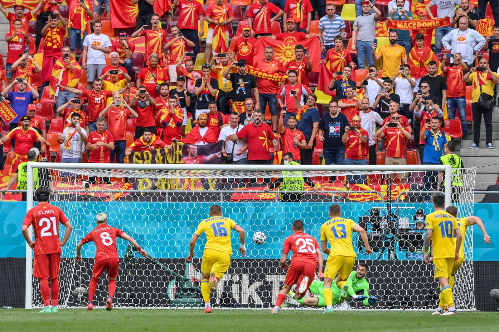 EURO 2020. Ucraina – Macedonia de Nord 2-1. Ambele echipe au ratat câte un penalty