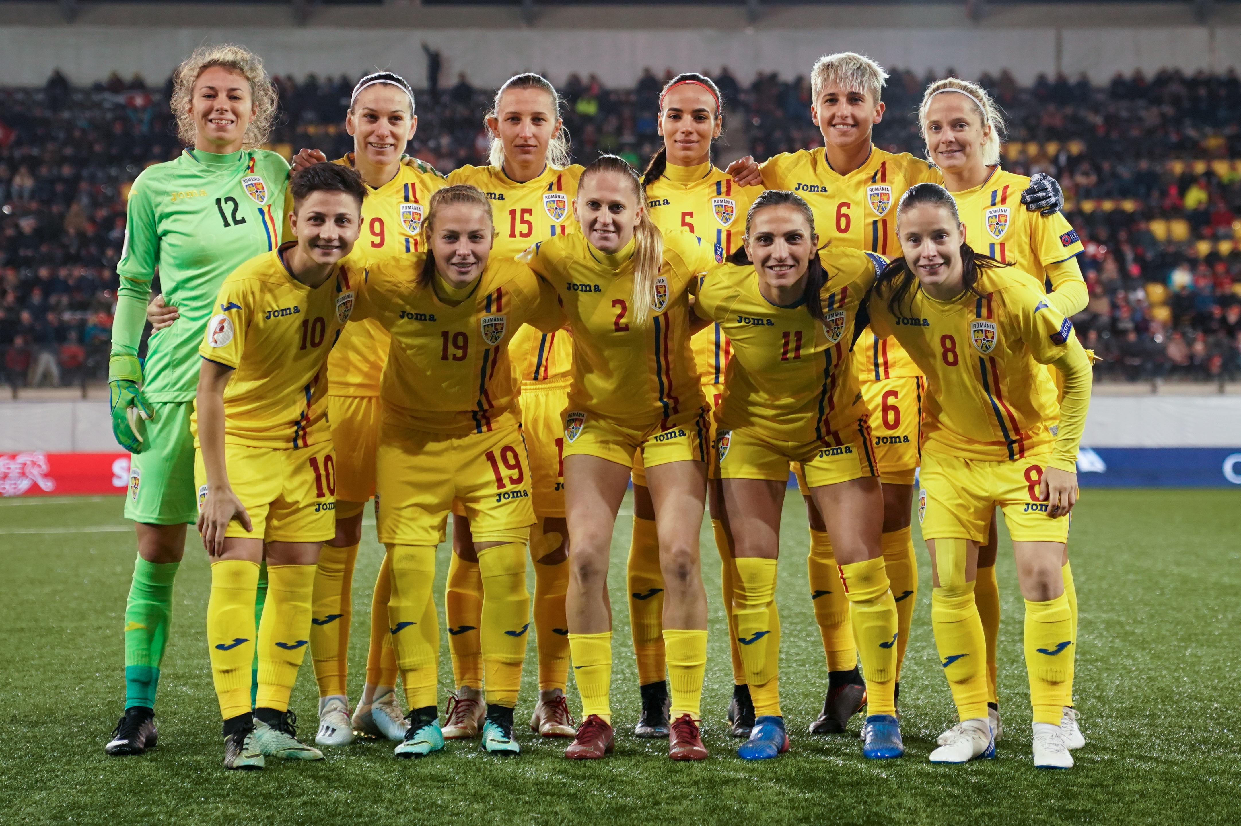Fotbal feminin. România a învins Lituania şi are maxim de puncte în preliminariile Cupei Mondiale