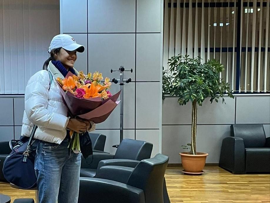 FOTO Emma Răducanu a ajuns în România. Sportiva va participa la turneul de tenis de la Cluj-Napoca