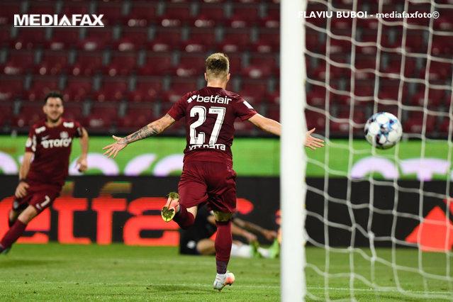CFR Cluj îşi consolidează prima poziţie în Liga 1 după victoria cu Sepsi Sf. Gheorghe|EpicNews
