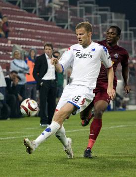 CFR Cluj a debutat cu o victorie în grupa K a Ligii Europa